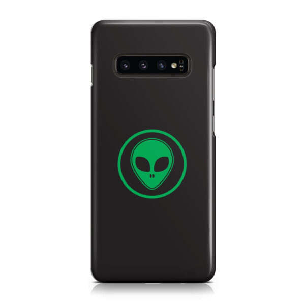 Green Alien Face for Customized Samsung Galaxy S10 Plus Case Cover