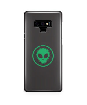 Green Alien Face for Cute Samsung Galaxy Note 9 Case Cover