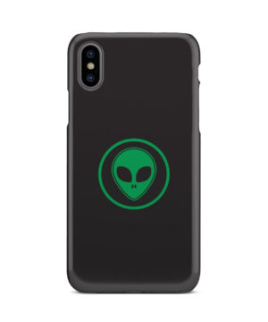 Green Alien Face for Newest iPhone X / XS Case Cover