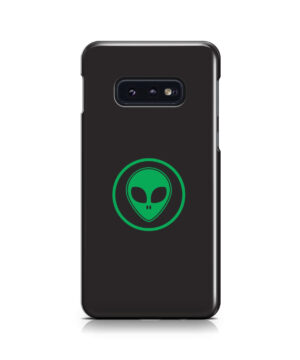 Green Alien Face for Personalised Samsung Galaxy S10e Case Cover