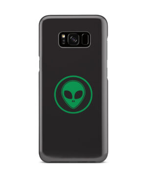 Green Alien Face for Simple Samsung Galaxy S8 Plus Case Cover