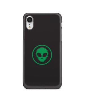 Green Alien Face for Stylish iPhone XR Case