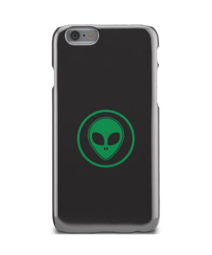 Green Alien Face for Trendy iPhone 6 Case Cover