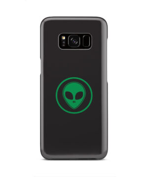 Green Alien Face for Trendy Samsung Galaxy S8 Case