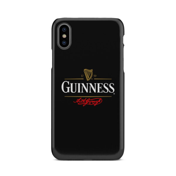 Guinness Beer for Cool iPhone X / XS Case Cover