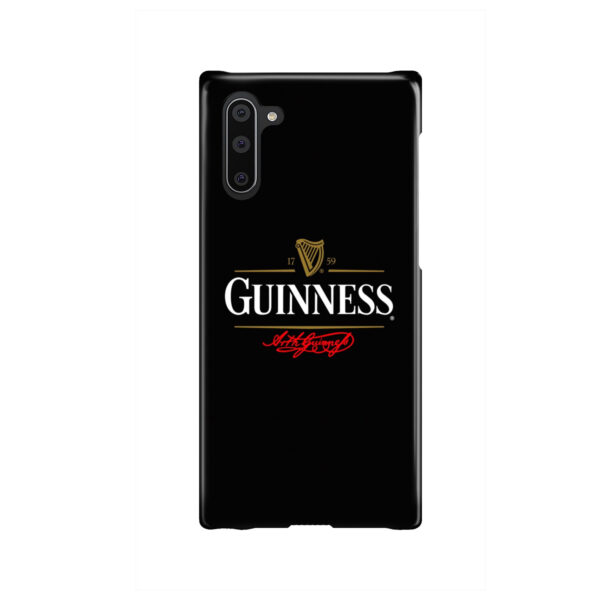 Guinness Beer for Personalised Samsung Galaxy Note 10 Case