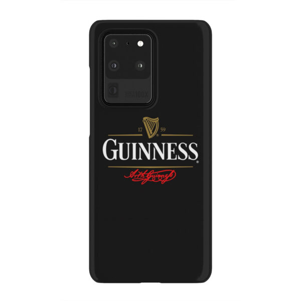 Guinness Beer for Stylish Samsung Galaxy S20 Ultra Case Cover