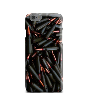Gun Firearm Ammunition for Premium iPhone 6 Case Cover