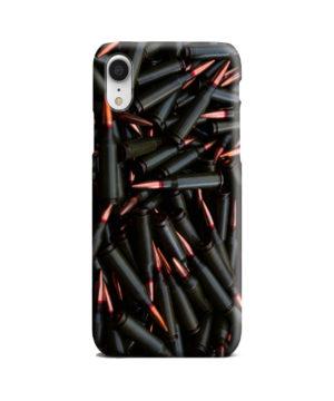 Gun Firearm Ammunition for Stylish iPhone XR Case Cover
