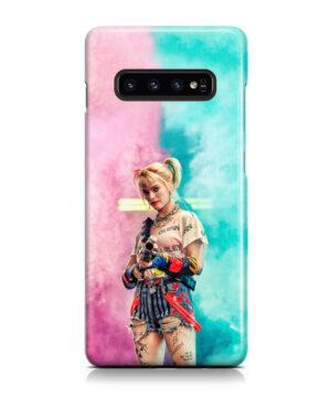 Harley Quinn Birds of Prey for Custom Samsung Galaxy S10 Case