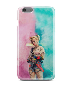 Harley Quinn Birds of Prey for Newest iPhone 6 Plus Case Cover