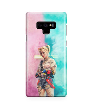 Harley Quinn Birds of Prey for Unique Samsung Galaxy Note 9 Case
