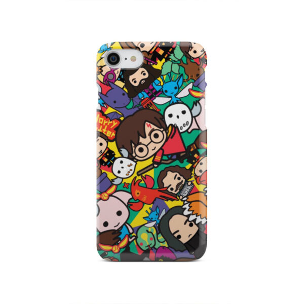 Harry Potter Cartoon Characters for Amazing iPhone SE 2020 Case Cover