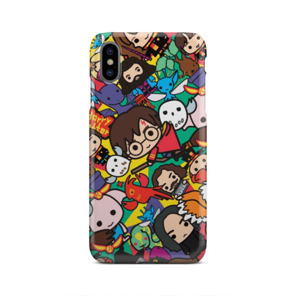 Harry Potter Cartoon Characters for Amazing iPhone XS Max Case