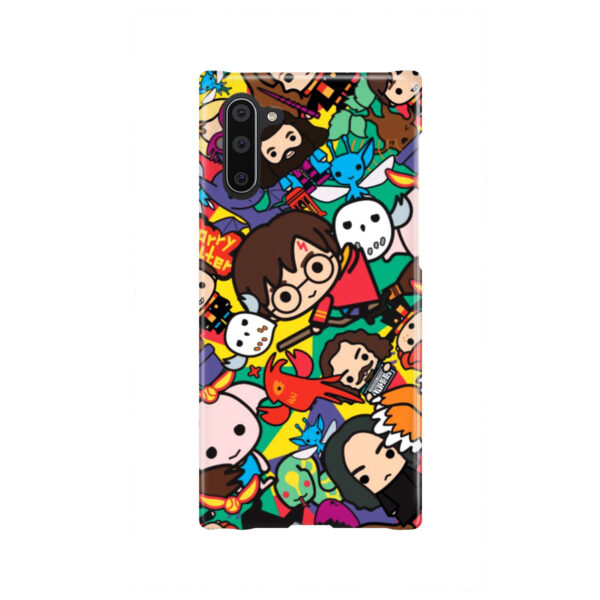 Harry Potter Cartoon Characters for Beautiful Samsung Galaxy Note 10 Case Cover