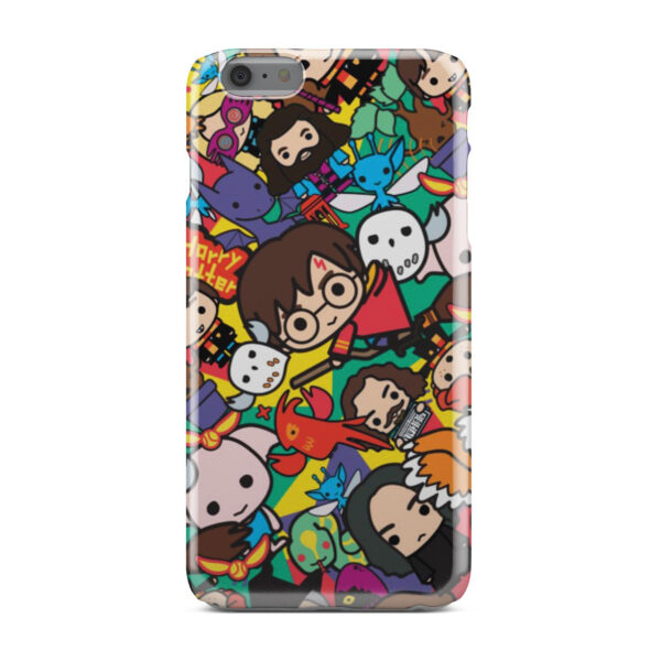 Harry Potter Cartoon Characters for Best iPhone 6 Plus Case