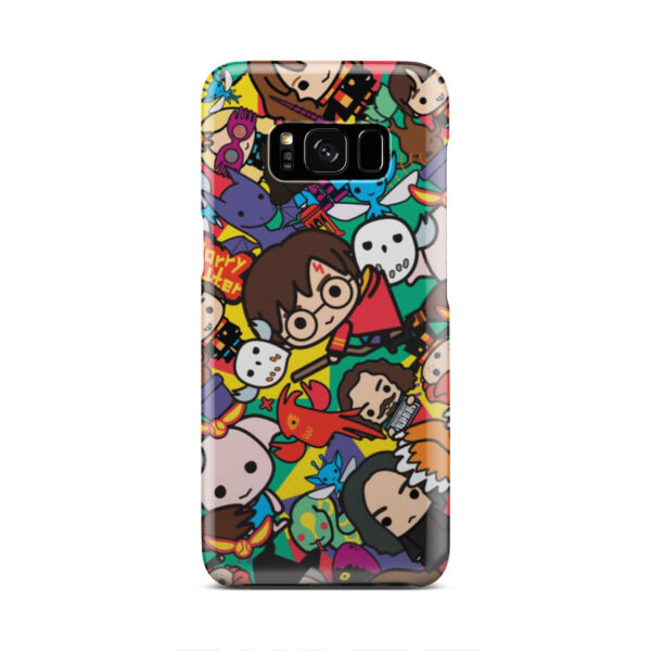 Harry Potter Cartoon Characters for Best Samsung Galaxy S8 Case Cover
