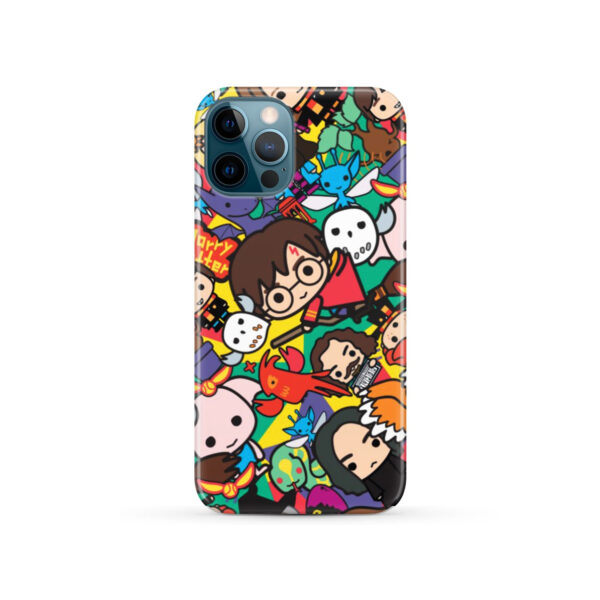 Harry Potter Cartoon Characters for Cool iPhone 12 Pro Case
