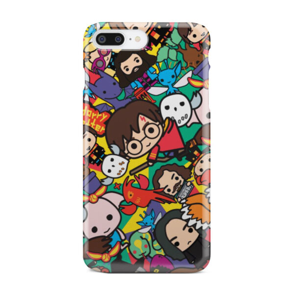 Harry Potter Cartoon Characters for Cool iPhone 7 Plus Case Cover