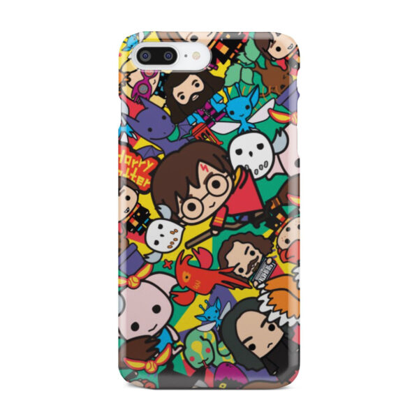 Harry Potter Cartoon Characters for Custom iPhone 8 Plus Case