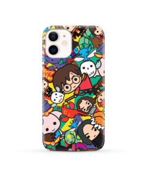 Harry Potter Cartoon Characters for Cute iPhone 12 Case