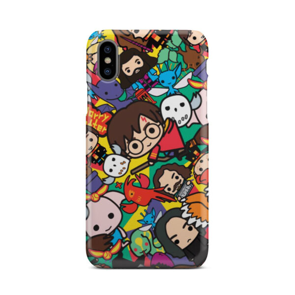 Harry Potter Cartoon Characters for Cute iPhone X / XS Case