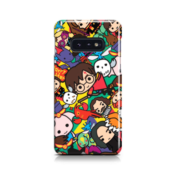 Harry Potter Cartoon Characters for Cute Samsung Galaxy S10e Case Cover