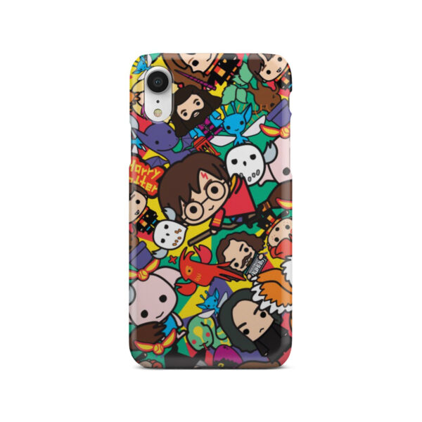Harry Potter Cartoon Characters for Newest iPhone XR Case Cover
