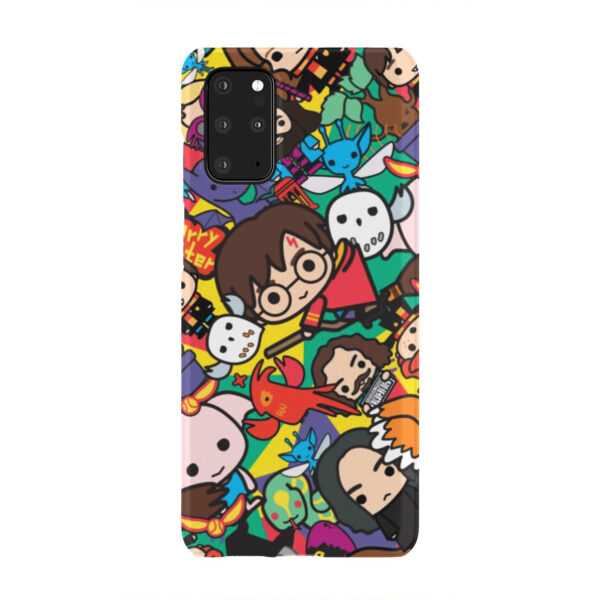 Harry Potter Cartoon Characters for Newest Samsung Galaxy S20 Plus Case Cover