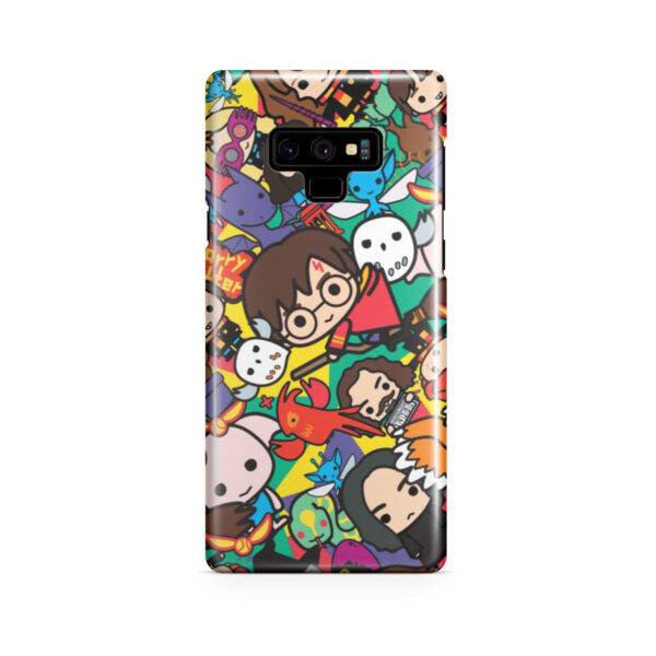 Harry Potter Cartoon Characters for Nice Samsung Galaxy Note 9 Case Cover