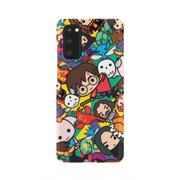 Harry Potter Cartoon Characters for Nice Samsung Galaxy S20 Case Cover