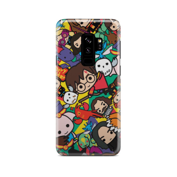 Harry Potter Cartoon Characters for Nice Samsung Galaxy S9 Plus Case Cover