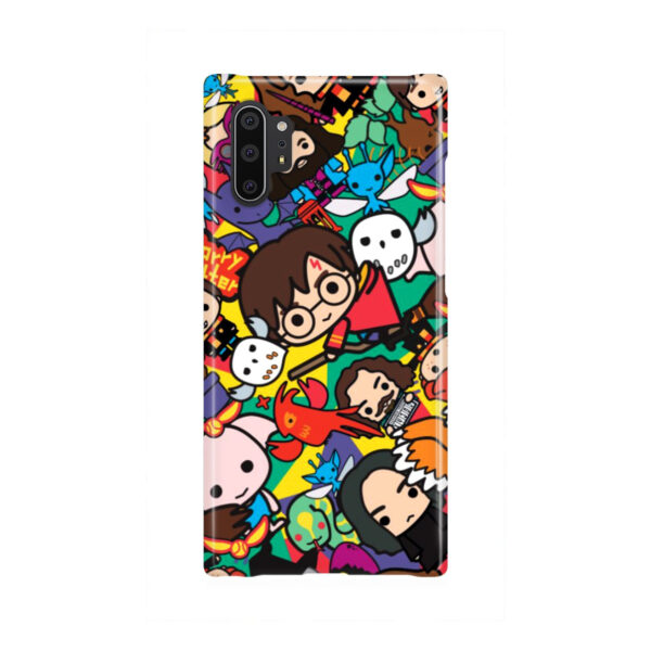 Harry Potter Cartoon Characters for Personalised Samsung Galaxy Note 10 Plus Case Cover