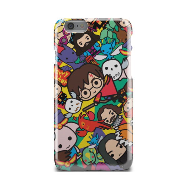 Harry Potter Cartoon Characters for Premium iPhone 6 Case Cover