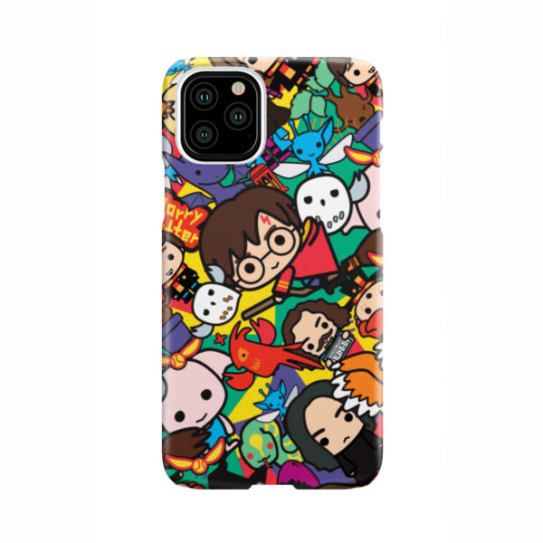Harry Potter Cartoon Characters for Stylish iPhone 11 Pro Case Cover