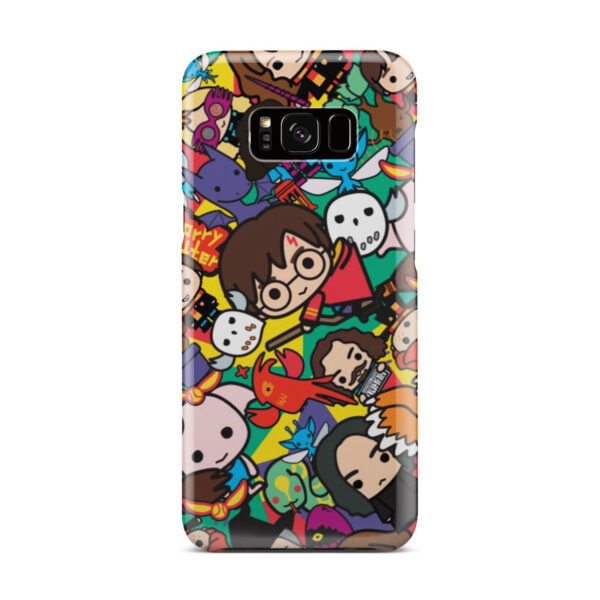 Harry Potter Cartoon Characters for Stylish Samsung Galaxy S8 Plus Case
