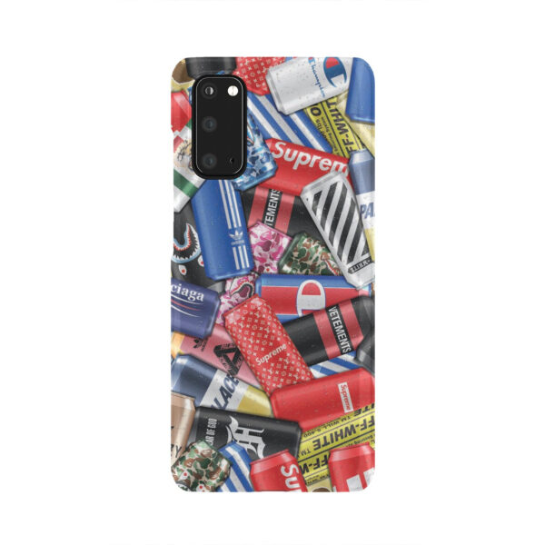 Hypebeast Cartoon for Personalised Samsung Galaxy S20 Case