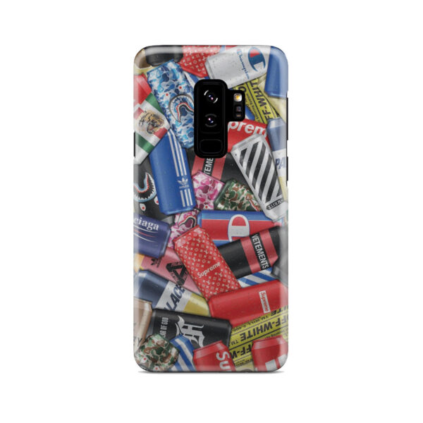 Hypebeast Cartoon for Simple Samsung Galaxy S9 Plus Case Cover