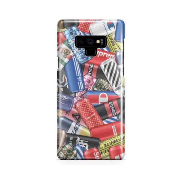 Hypebeast Cartoon for Stylish Samsung Galaxy Note 9 Case