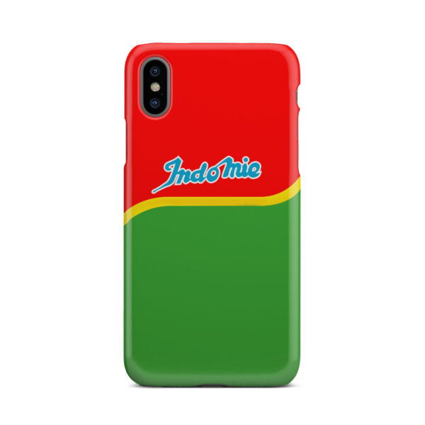 Indomie Noodles for Simple iPhone X / XS Case Cover