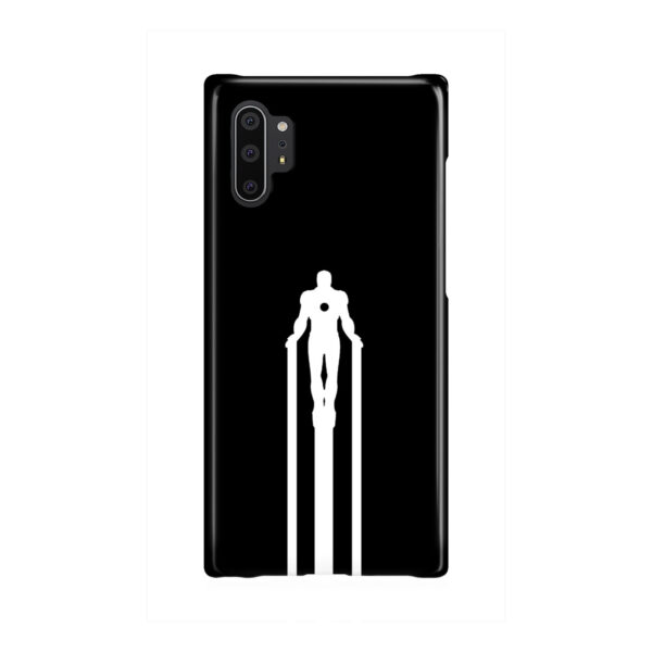 Iron Man Flying for Cool Samsung Galaxy Note 10 Plus Case