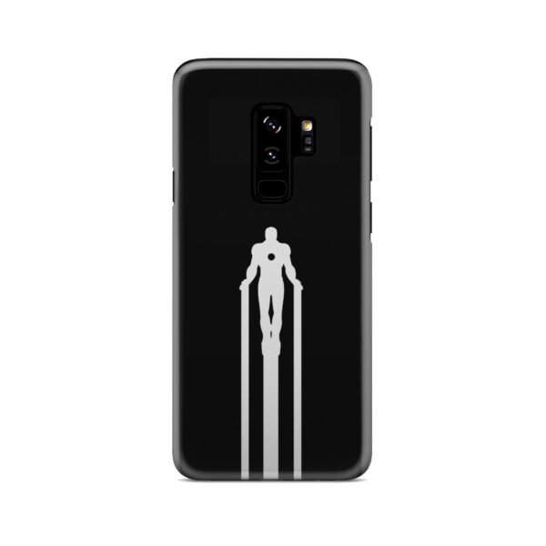 Iron Man Flying for Trendy Samsung Galaxy S9 Plus Case