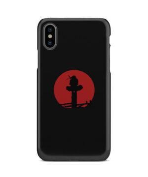 Itachi Uchiha Blood Moon for Beautiful iPhone X / XS Case Cover
