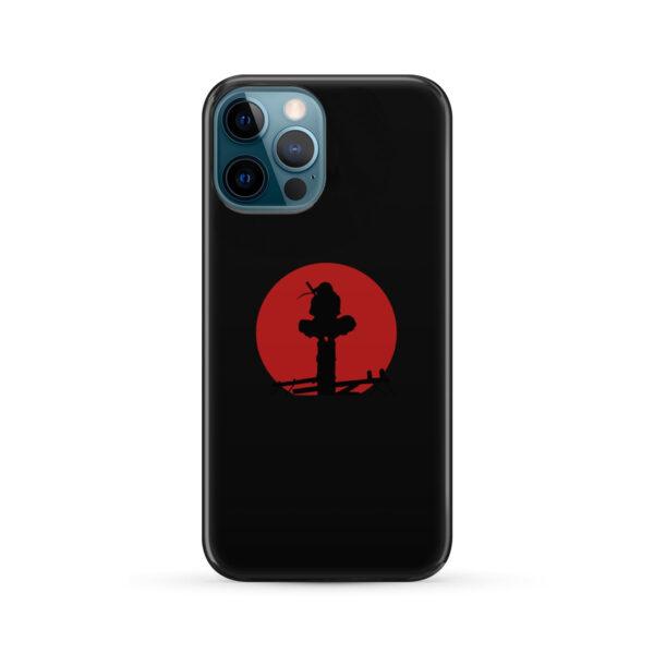 Itachi Uchiha Blood Moon for Custom iPhone 12 Pro Max Case Cover