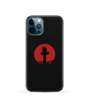 Itachi Uchiha Blood Moon for Newest iPhone 12 Pro Case Cover