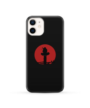 Itachi Uchiha Blood Moon for Personalised iPhone 12 Case