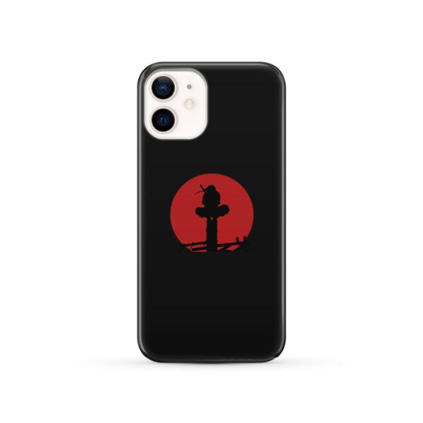 Itachi Uchiha Blood Moon for Personalised iPhone 12 Case
