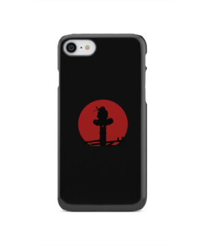 Itachi Uchiha Blood Moon for Simple iPhone SE 2020 Case