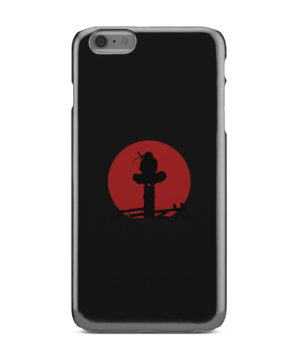 Itachi Uchiha Blood Moon for Trendy iPhone 6 Plus Case Cover