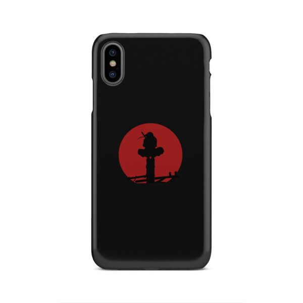 Itachi Uchiha Blood Moon for Trendy iPhone XS Max Case Cover